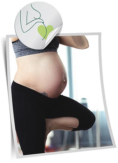 Pregnant Woman Yoga with Sam Hughes